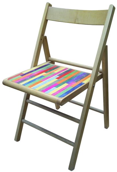 Chaise pliable 01