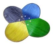 Plat hybride en fleur