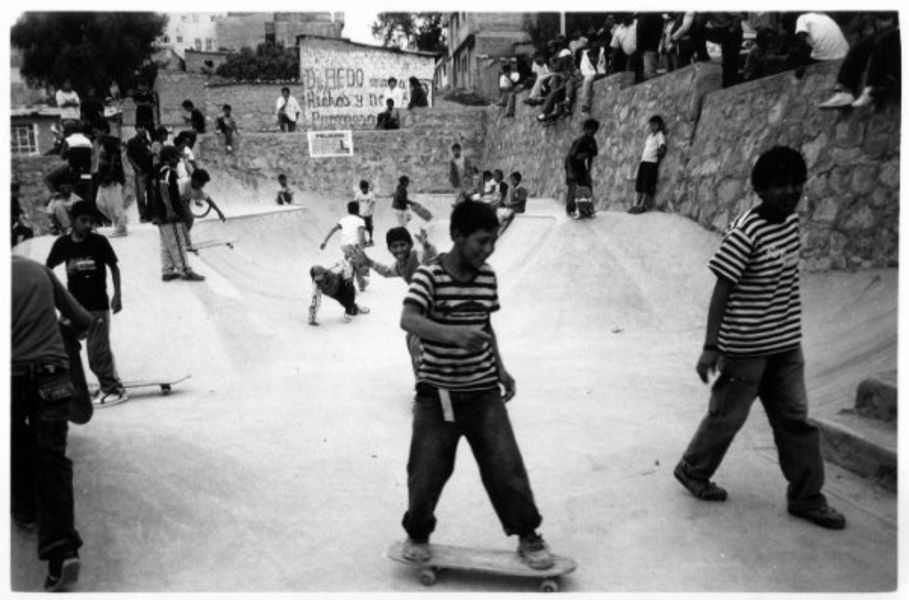 Skatepark d'Ayacucho, Pérou.