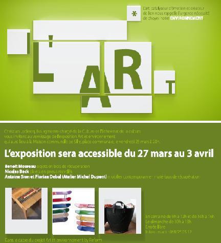 Exposition Art et environnement à Silly le 25 mars 2011